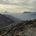 Vallée du Giffre dans la brume