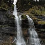"""""""La reine des Alpes"""" ou la cascade du Rouget (Haut-Giffre)"""