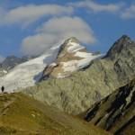 Le mont Dolent, sommet Italo-franco-suisse