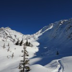 Juste au dessus de Miage (Mont-Blanc)