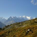 Mont-Blanc depuis les Chézerys
