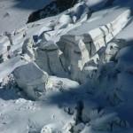 Séracs sur la Mer de Glace (Mont-Blanc)