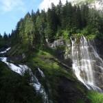 Les cascades de la Sauffaz et la Pleureuse